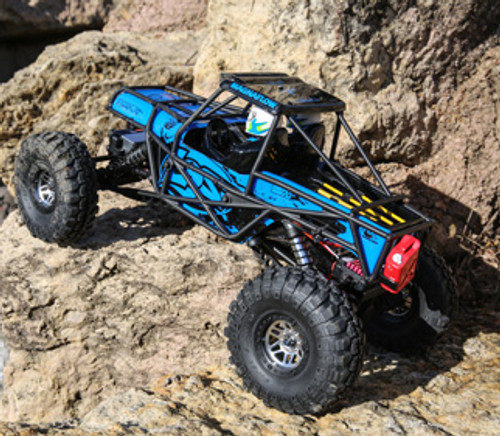 Losi Night Crawler SE 4WD 1/10 RTR Rock Crawler (Blue) w/STX2 2.4GHz Radio (LOS03015T1)
