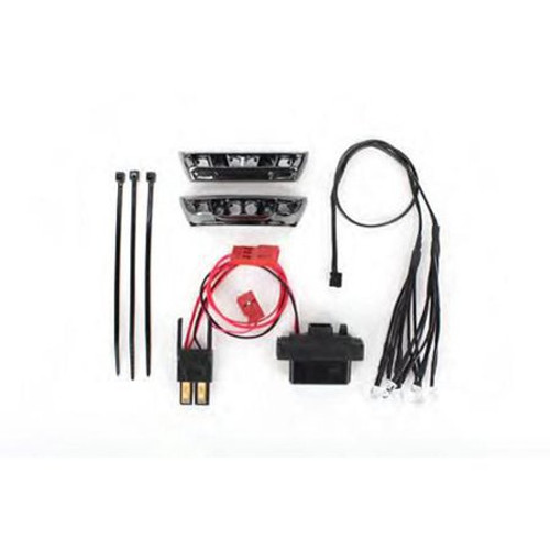 Traxxas complete LED light kit, 1/16 E-Revo (RED) (TRA7185)