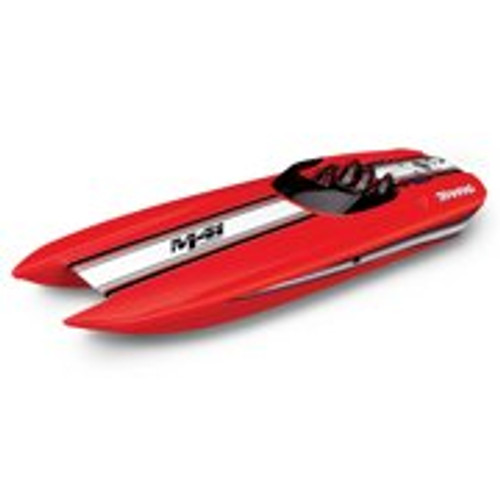 "Traxxas DCB M41 Widebody 40"" Catamaran High Performance Race Boat w/TQi 2.4GHz Radio & TSM - RED"