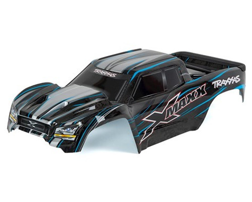 Traxxas X-Maxx Monster Truck Pre-Painted Body (Blue) (TRA7711A)