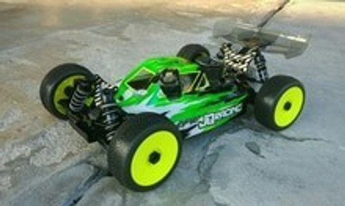Leadfinger Racing A2 Tactic body (clear) for JQ TheCar (Black Edition)