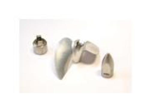 Hot Racing Aluminum Prop Set w/ Bullet Nut & DriveDog-M41,Spartan