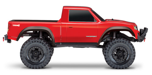 Traxxas TRX-4 Sport 1/10 Scale Trail Rock Crawler (Red) w/XL-5 ESC & TQi 2.4GHz Radio