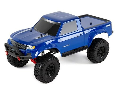 Traxxas TRX-4 Sport 1/10 Scale Trail Rock Crawler (Blue) w/XL-5 ESC & TQi 2.4GHz Radio (TRA82024-4-BLUE)