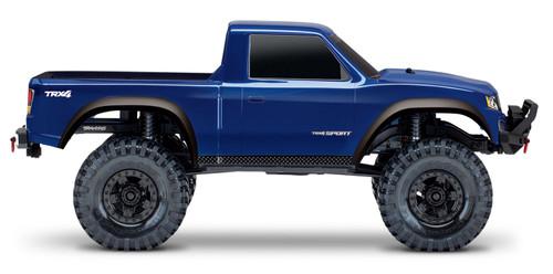 Traxxas TRX-4 Sport 1/10 Scale Trail Rock Crawler (Blue) w/XL-5 ESC & TQi 2.4GHz Radio (TRA82024-4-BLUE)