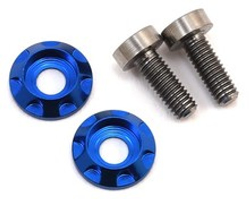 "17.5 RC 3x8mm Titanium ""High Load"" Motor Screws (Blue)"
