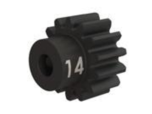 Traxxas Heavy Duty 14-T pinion (32-p) (machined, hardened steel) w/set screw (TRA3944X)