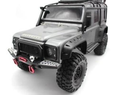 Hot Racing Aluminum Front bumper Winch Mount Light Buckets: TRX-4