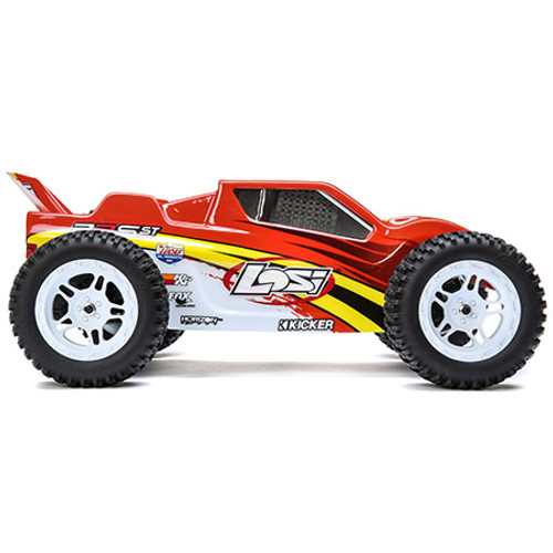 Losi 22S ST RTR 1/10 2WD Brushless Stadium Truck (Red/Yellow) w/2.4GHz Radio & AVC