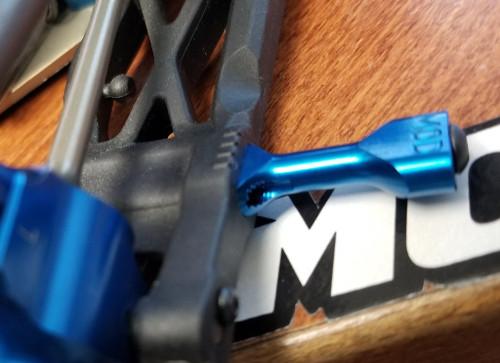 M.O.D. 5-IN-1 AE 6.1 Series Aluminum Arm Inserts (Black)