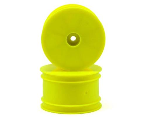 Serpent 12mm Hex 1/10 Rear Buggy Wheels (2) (SRX-2/SRX-4) (Yellow)