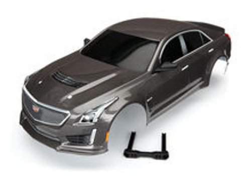 Traxxas Cadillac CTS-V Painted Body (Silver) (TRA8391X)