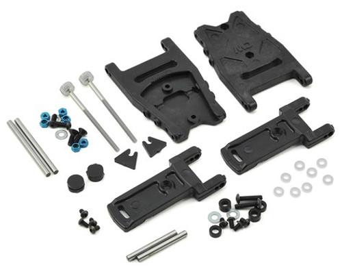 Custom Works Traxxas Slash Dirt Oval Adjustable Rear Arm Kit (CSW3270)
