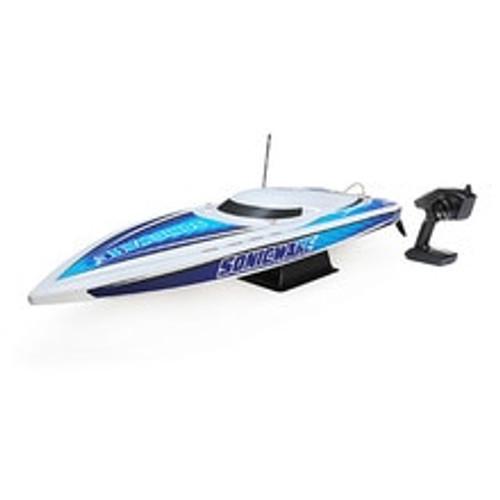"""Pro Boat Sonicwake 36"""" RTR Deep-V Brushless Boat (White) w/Spektrum STX2 2.4GHz Radio (PRB08032T1)"""