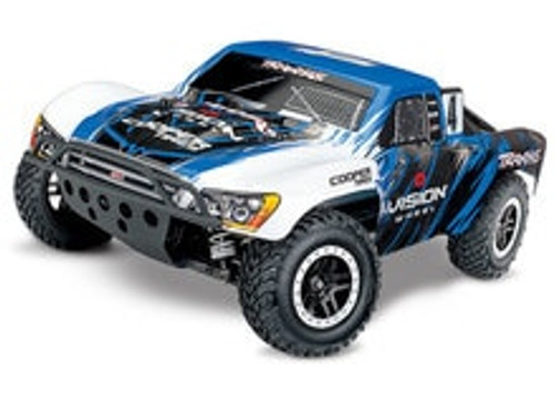 Traxxas Slash 4X4 VXL Brushless 1/10 4WD RTR Short Course Truck w/TQi & TSM (Vsison Wheel Edition)