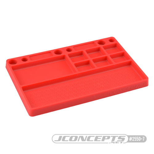JConcepts Parts Tray (Red)