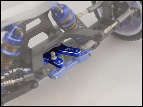 JConcepts B6/B6D Aluminum Steering Bellcrank (Black)