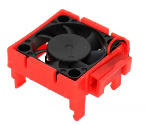 Power Hobby Cooling Fan, for Traxxas Velineon VLX-3 ESC, Red