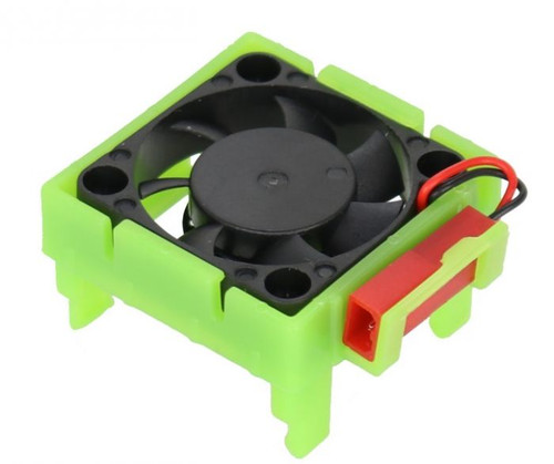 Power Hobby Cooling Fan, for Traxxas Velineon VLX-3 ESC, Green