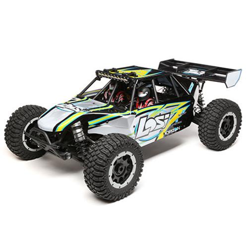 Losi Desert Buggy XL-E 1/5 RTR 4WD Electric Buggy (Black) w/2.4GHz Radio & AVC