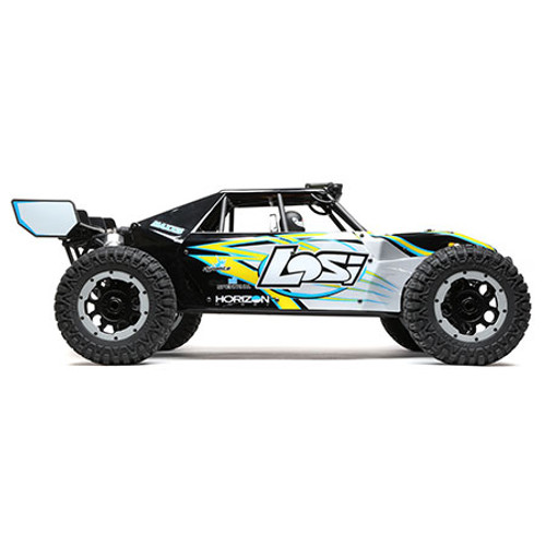 Losi Desert Buggy XL-E 1/5 RTR 4WD Electric Buggy (Black) w/2.4GHz Radio & AVC