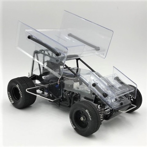 1RC Racing 1/18 Sprint Car RTR (Clear)