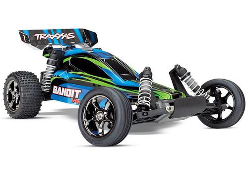Traxxas Bandit VXL Brushless 1/10 RTR 2WD Buggy (Blue) w/TQi 2.4GHz Radio & TSM