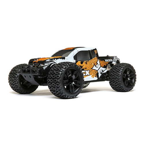ECX 1/10 4WD Ruckus Brushed Orange/White RTR
