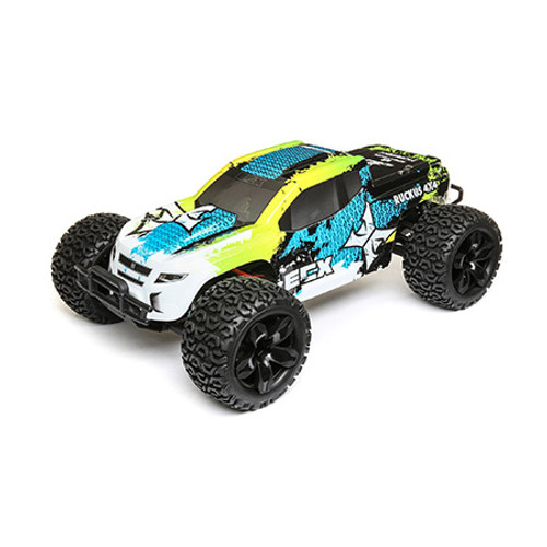 ECX 1/10 4WD Ruckus Brushed Blue/Green RTR