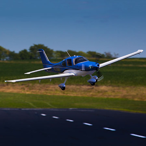 E-flite Cirrus SR-22T BNF Basic Electric Airplane (1500mm) w/AS3X & SAFE Technology