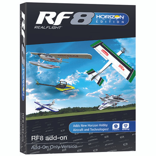 RealFlight 8 Horizon Edition Flight Simulator (Add-On)