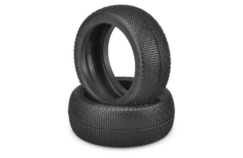 JConcepts Teazers 1/8th Buggy Tires (2) (Green)