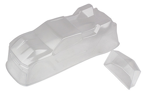 Team Associated T6.1 Body and Spoiler, clear (ASC71126)