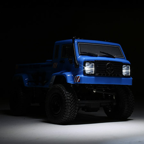 ECX Barrage UV Blue RTR: 1/24 4WD Scaler Crawler