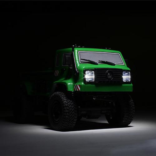 ECX Barrage UV Green RTR: 1/24 4WD Scaler Crawler (FPV) (ECX00018T1)
