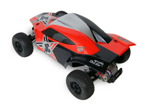 "JConcepts Illuzion ""BAJR"" Body (Clear) (Slash)"