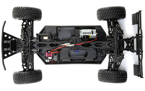 4X4 Driveline with Adjustable Differentials:  Full-time four-wheel drive provides increased traction and handling. The front, center and rear differentials can also be tuned for various conditions. Included with the TENACITY SCT is a center differential that allows the power to bleed to the front or rear and allows the vehicle to handle the roughest terrain.