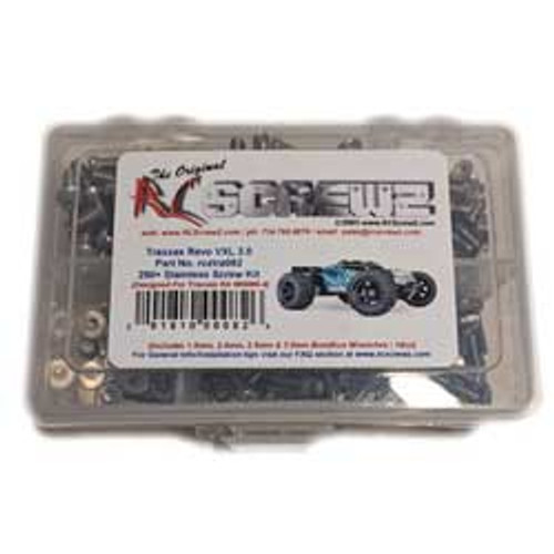 RC Screwz Traxxas Revo 2.0 Stainless Steel Screw Kit (RCZTRA082)
