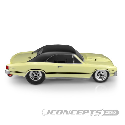 JConcepts 1967 Chevy Chevelle clear body - SCT