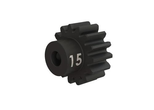 Traxxas Heavy Duty 15-T pinion (32-p) (machined, hardened steel) w/set screw (TRA3945X)