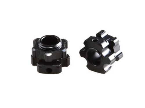JQRacing Lightweight +1mm Hex & Nuts (2pcs) (JQB0194)