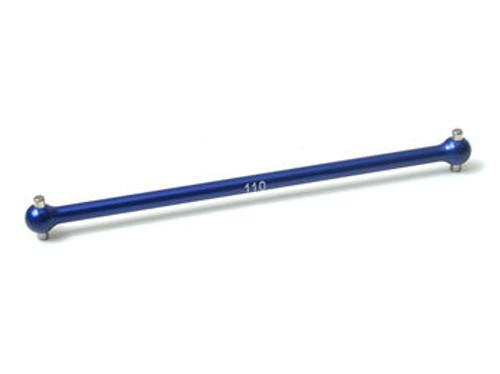 JQ Racing 110mm Centre Dogbone (Blue) (JQB0151)
