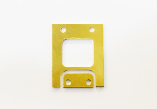 JQ Racing 2mm Front Brass Gearbox Spacer (BE, WE)
