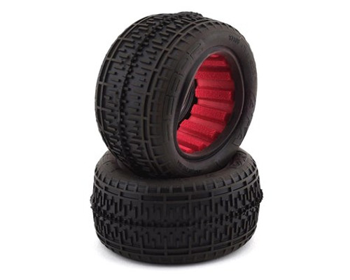 "AKA Rebar 2.2"" Rear Buggy Tires w/Red Insert (2) (Super Soft)"