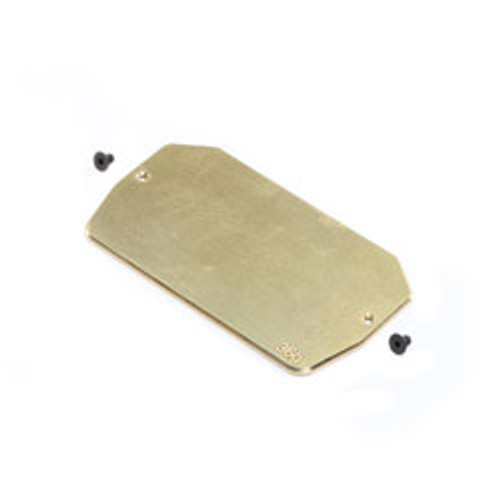 Team Losi Racing 22 5.0 Brass Electronics Mounting Plate (36g) (TLR331039)