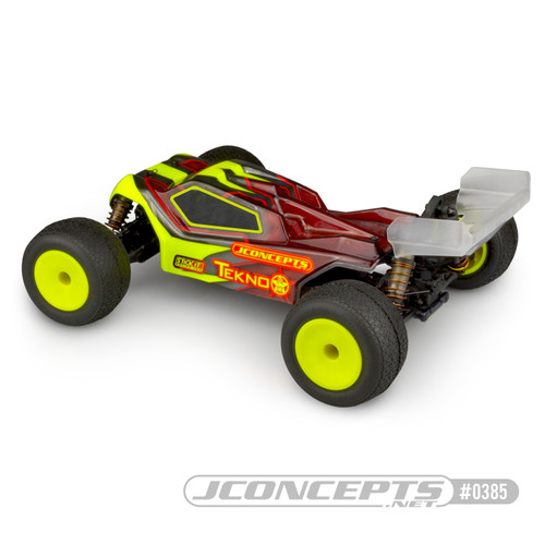 JConcepts ET410 Finisher Body (Clear) (JCO0385)