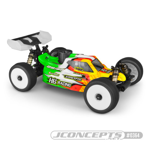 JConcepts HB Racing D819/D817 V2 S15 1/8 Nitro Buggy Body (Clear) (JCO0364)