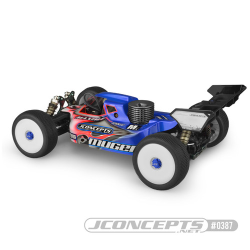 JConcepts Mugen MBX8 S15 1/8 Nitro Buggy Body (Clear) (JCO0387)