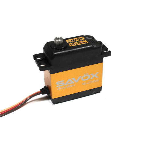 Savox SB-2230SG Monster Torque Tall Brushless Steel Gear Servo (High Voltage) (SAVSB2230SG)