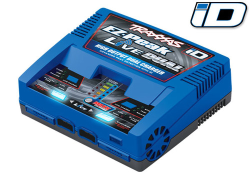 Traxxas EZ-Peak Live Multi-Chemistry Battery Charger w/Auto iD (4S/26A/200W) (TRA2973)